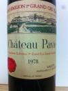 CHÂTEAU PAVIE 1978