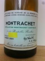 DRC MONTRACHET 2001