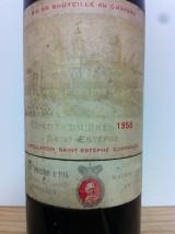 CHÂTEAU COS D'ESTOURNEL 1958