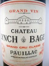 CHÂTEAU LYNCH BAGES 1982