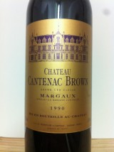 CHÂTEAU CANTENAC BROWN 1990