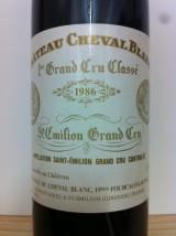 CHÂTEAU CHEVAL BLANC 1986