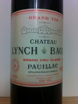 CHÂTEAU LYNCH BAGES 1998