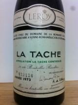 LA TÂCHE 1973