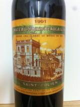 CHÂTEAU DUCRU BEAUCAILLOU 1991