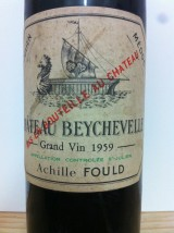 CHÂTEAU BEYCHEVELLE 1959