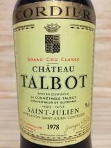 CHÂTEAU TALBOT 1978